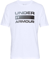 T-SHIRT DA UOMO UNDERARMOUR UA TEAM ISSUE WORDMARK  BIANCA