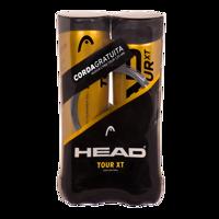 COPPIA DI TUBI DI PALLINE DA TENNIS HEAD TOUR XT + CORDA LYNX TOUR 1,25MM