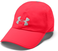 CAPPELLO UNDERARMOUR UA RUN SHADOW ROSSO