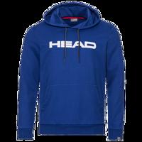 FELPA CON CAPPUCCIO HEAD CLUB BYRON BLU ROYAL