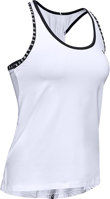 CANOTTA DA DONNA UNDER ARMOUR KNOCKOUT TANK BIANCA