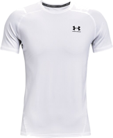 T-SHIRT A MANICA CORTA UNDERARMOUR UA HG ARMOUR FITTED SS BIANCA