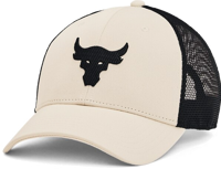 CAPPELLO UNDERARMOUR UA PROJECT ROCK TRUCKER BIANCO