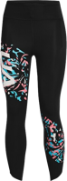 LEGGINGS DA DONNA 7/8 UNDERARMOUR UA FLY FAST NERO A FANTASIA