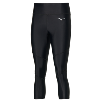 LEGGINGS RUNNING DONNA MIZUNO IMPULSE CORE 3/4 TIGHT NERO