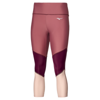 LEGGINGS RUNNING DONNA MIZUNO IMPULSE CORE 3/4 TIGHT TRICOLOR