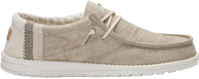 SCARPA DA UOMO DUDE WALLY LINEN NATURAL KHAKI
