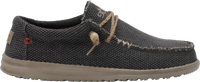 SCARPA DA UOMO DUDE WALLY BRAIDED OFF BLACK