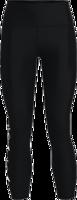 LEGGINGS DA DONNA 7/8 UNDER ARMOUR NERO CON CINTURA GRAFICA LATERALE BIANCA