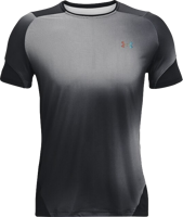 T-SHIRT MANICA CORTA UOMO UNDER ARMOUR NERA CON SFUMATURE GRIGIE