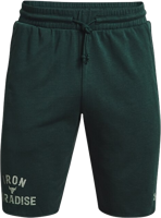BERMUDA UOMO UNDER ARMOUR PROJECT ROCK VERDE SCURO