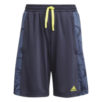 SHORT JUNIOR ADIDAS DESIGNED TO MOVE CAMOUFLAGE BLU