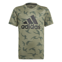 T-SHIRT MANICA CORTA JUNIOR ADIDAS DESIGNED TO MOVE VERDE CAMOUFLAGE