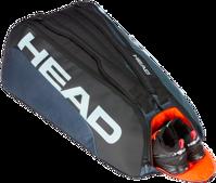 BORSA DA TENNIS HEAD TOUR TEAM MONSTERCOMBI X12 NERO GRIGIO