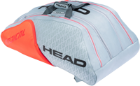 BORSONE TENNIS HEAD RADICAL 12 MONSTERCOMBI GRIGIO/ARANCIO