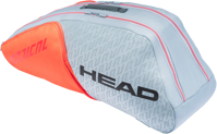 BORSONE TENNIS HEAD RADICAL 6R COMBI GRIGIO/ARANCIO