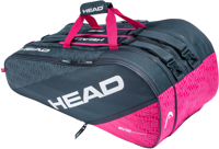 BORSONE TENNIS HEAD ELITE 12R MONSTERCOMBI GRGIO SCURO/FUCSIA
