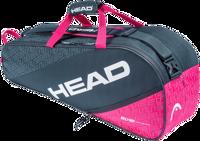 BORSONE TENNIS HEAD ELITE 6R COMBI GRIGIO/FUCSIA