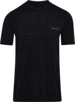 T-SHIRT MANICA CORTA UOMO RUNNING DIADORA SKIN FRIENDLY NERA