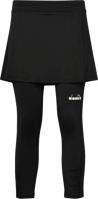 GONNA DONNA TENNIS DIADORA POWER NERO CON LEGGINGS INCORPORATO