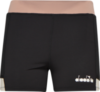 SHORT DONNA TENNIS DIADORA POCKET NERO