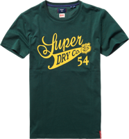T-SHIRT MANICA CORTA UOMO SUPERDRY COLLEGIATE GRAPHIC VERDE
