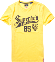 T-SHIRT MANICA CORTA UOMO SUPERDRY COLLEGIATE GRAPHIC GIALLO