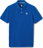 POLO DA UOMO NORTH SAILS IN PIQUET BLU ROYAL