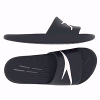 CIABATTE DA UOMO DA PISCINA SPEEDO SLIDES ONE PIECE AM NERO