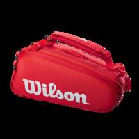 BORSONE WILSON SUPER TOUR 9 PACK ROSSO