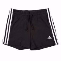 SHORT DA DONNA ADIDAS SSENTIAL 3-STRIPES NERO/BIANCO