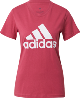 T-SHIRT DA DONNA ADIDAS PERFORMANCE LAMPONE/BIANCO