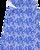 COSTUME BOXER DA UOMO ALLEY DOCKS CON FANTASIE BLU/BIANCO/AZZURRO