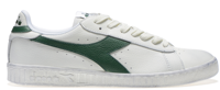 SCARPA UNISEX DIADORA GAME L LOW WAXED BIANCA VERDE