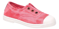 SCARPE JUNIOR NATURAL WORLD INGLES ELASTICO ENZIMATICO ROSA VIVO