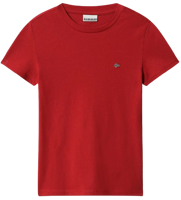 T-SHIRT MANICA CORTA JUNIOR NAPAPIJRI K SALIS OLD RED