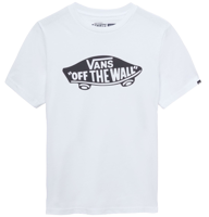 T-SHIRT MANICA CORTA UOMO VANS BIANCA CON STAMPA FRONTALE