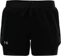 SHORT DONNA UNDERARMOUR FLY BY 2.0 NERO