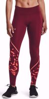 LEGGINGS DONNA UNDER ARMOUR FLY FAST 2.0 ROSSO SCURO