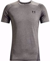 T-SHIRT UOMO MANICA CORTA UNDER ARMOUR FITTED GRIGIA