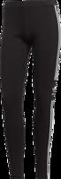 LEGGING DONNA ADIDAS TREFOIL IN JERSEY NERO CON STRISCE LATERALI BIANCHE