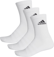 CALZE CUSHIONED ADIDAS BIANCHE