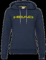 FELPA DONNA CON CAPPUCCIO HEAD CLUB ROSIE BLU